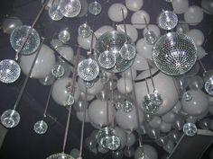 Shiny disco balls and glitter balloons (Ceiling shot I) | Flickr - Photo Sharing!