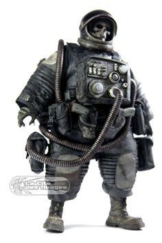 3A Adventure Kartel Dead Astronaut Gangsta Black 1/6 12.5 32cm Collectible Figure ThreeA ThreeA Toys