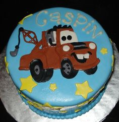 Tow Mater Cake Ideas