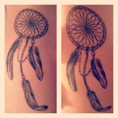My dream catcher tattoo Dream Catcher Tattoo, Dreamcatchers, Tatting, Tattoo Ideas, Ink, How To Make, Inspiration, Tatoo, Biblical Inspiration