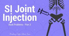 SI Joint Injection || Finding Life's Silver Sun --- My physiatrist and I decided that going forward with a cortisone injection into my right SI joint was the best next step. It's been an intense week since the shot, but I'm happy to report that it's been worth it! #SIJoint #CortisoneInjection
