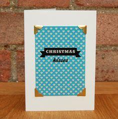 #greetingscards #typography #digitaldesign #handmade #christmas #christmascard #handmadechristmas #polkadot #christmaskisses