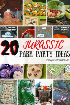 20 Jurassic Park Par