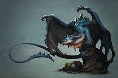 ArtStation - Azure Dragon, Baldi Konijn