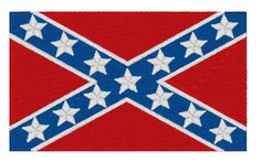 Embroidery Applique, Machine Embroidery, Vintage Style, Vintage Fashion, Confederate Flag, Flags, Bespoke, 4x4, Monogram