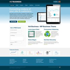 Check out Hot Business by hot-themes on Creative Market