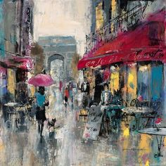 Paris Modern I by Brent Heighton