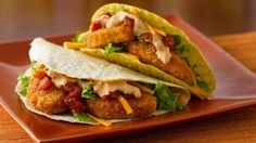 """Kids will love this combination of tacos and chicken nuggets all """"wrapped"""" up in one recipe!"""