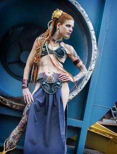 Slave leia cosplay carlotta