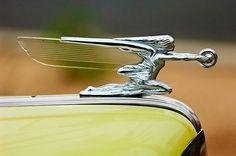 1942 Packard Hood Ornament by Jill Reger