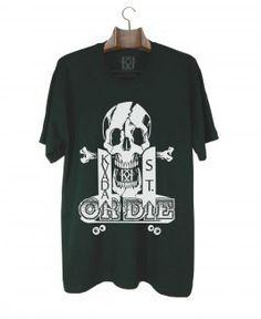 Camiseta Kvada or Die Preta