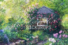Backdrops, Cottage, Boutique, House Styles, Red, Home Decor, Decoration Home, Room Decor, Cottages