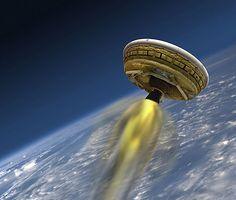 <p>FEILET: NASAs «flygende tallerken» LDSD brukes til å teste teknikker for å bremse hurtige romfartøyer i den tynne Mars-atmosfæren.<br/></p>