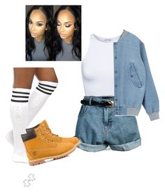 """""""Untitled #27"""" by cocozx ❤ liked on Polyvore featuring Estradeur, Retrò and Timberland"""