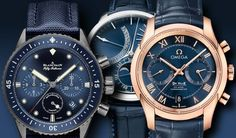 Blue watches are always intriguing and have found their way into just about every luxury watch brand. Come see a great collection of noteworthy blue watches from brand name luxury watchmakers.