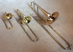 Puccolo, soprano and alto trombone Piccolo Trombone | www.wessex-tubas.com