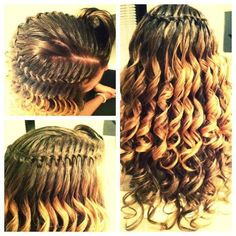 Ringlets hair style braid long wavy curls ringlet hair ideas hair styles haircuts