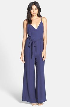 Glamorous Open Back Flared Jumpsuit available at #Nordstrom