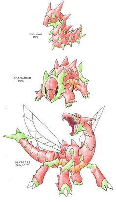 Pokemon designed by Darksilvania on deviantart