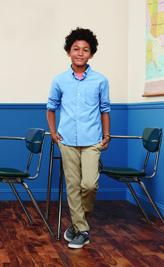 Get your little ones ready for school with uniforms in great 2015 styles. Straight-front khakis, polos, tees in just the color you need, and shoes for every activity. Get your boys back to school uniforms today from Old Navy. Back To School Uniform, Back To School Fashion, Back To School Teacher, Primary School, Boys Uniforms, School Uniforms, School Readiness, Maternity Wear, Old Navy