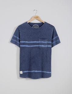 Mens T-Shirts   Acid Wash Wave Print Tee   Native Youth wonderful, i'm keen on…