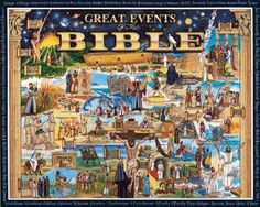 White Mountain Great Events of the Bible Religious Jigsaw Puzzle - 1000 pc Bible Humor, Christian Posters, Hobby Trains, Plastic Model Kits, Great Stories, Hobbies And Crafts, Cool Artwork, 1000 Piece Jigsaw Puzzles, Craft Projects