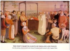 St. John Jones, Roman Catholic Priest and English Martyr. arrested, severely…