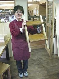 2009年12月21日 みんなの作品【本棚・棚】|大阪の木工教室arbre(アルブル)