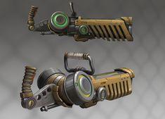 energy gun concept, Sergey Vasnev on ArtStation at https://www.artstation.com/artwork/energy-gun-concept