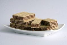 The Wafer Cookie was recorded to be available on the streets of Paris as early as the 14th century. There are even Renaissance cook books that have wafer recipes written on them.