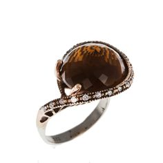Sterling Silver Ring, Silver Ring, The Zerbap Dory  with Zircon Stone , Zircon Ring by Rosestyle on Etsy