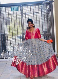 Lengha Blouse Designs, Kids Blouse Designs, Half Saree Designs, Dress Neck Designs, Bridal Blouse Designs, Long Gown Dress, Frock Dress, Long Frock, Choli Dress