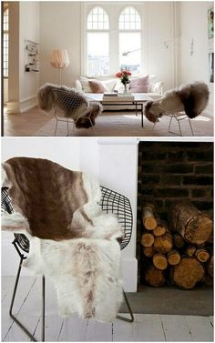 WABI SABI Scandinavia - Design, Art and DIY.: Best way to stay trendy and warm this winter!   Hides