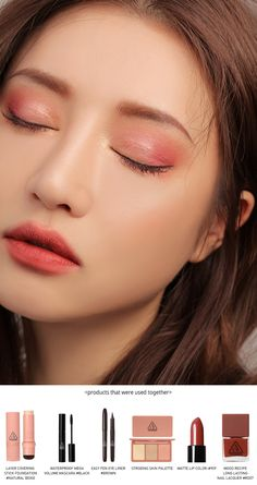 pro multi eye color palette - Makeup Tutorial Over 40 Korean Makeup Look, Korean Makeup Tips, Asian Makeup, Eye Makeup Tips, Makeup Inspo, Lip Makeup, Makeup Eyeshadow, Beauty Makeup, Makeup Ideas