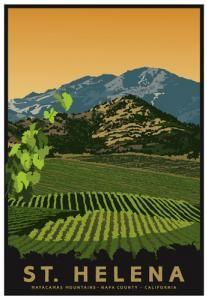 St. Helena, California Mountain Series