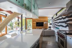 Sycamore House by Aaron Neubert Architects