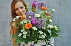 #flowers#curcuma#gerbera#tulipa#allium#wood