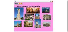 Juego de monumentos de Andalucía en Scratch