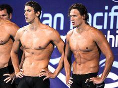 Ryan Lochte & Michael Phelps