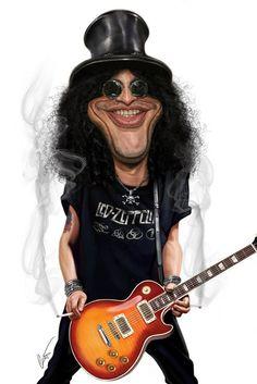 Slash, guitarrista do Gun's'Roses