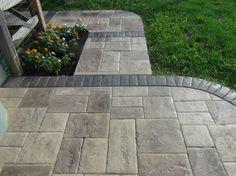 Stamped concrete patios, driveways, & walkways: Columbus, Ohio ...