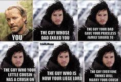 LOL  #winteriscoming #gameofthrones #JonSnow