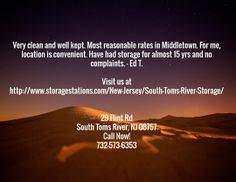 #SelfStorage #SouthTomsRiver #NJ 29 Flint Rd South Toms River, NJ 08757 Call Now! 732-573-6353