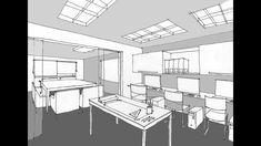 Dibujar con 2 puntos de fuga Drawing Lessons, Floor Plans, Furniture, Home Decor, Youtube, Storyboard, Drawings, Orange, Studio