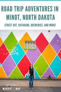 North Dakota is the perfect state for a road trip through the midwest. We had a blast on our recent trip explroing outdoor adventures in north central North Dakota! One stop on our trip was the town of Minot, and we spent time checking out street art, kayaking, visiting breweries, having tastings at wineries, and more! via @wanderthemap Beaver Lodge, North Dakota, North America, Riddles To Solve, Great American Road Trip, Art In The Park, Road Trip Adventure, Travel Guides, Travel Tips