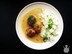 Soczyste pulpety w musztardowym sosie z ryżem | MR. CHEF - COOK'S BLOG