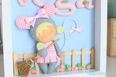 Little Girl Toys, Toys For Girls, Little Girls, Fabric Crafts, Baby Shower, Fancy, Patchwork Ideas, Frame, Handmade