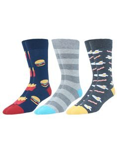 Details about  / Stripes Striped crew socks womens 9-11 YELLOW Trim Bright Colors Fun Y