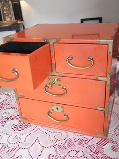 Antique Japanese Jewelry Box by MorningstarrDesigns on Etsy, $100.00