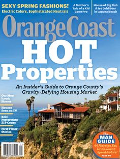 Orange Coast Magazine March 2011 Table of Contents New Home Source, Orange Coast, Table Of Contents, Big Fish, See On Tv, Laguna Beach, Kids House, New Homes, March